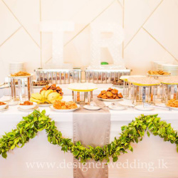 thilini with designer wedding (4)